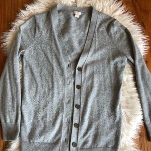 J. Crew lightweight cardigan sweater